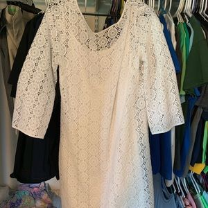 Lilly Pulitzer White Dress. Excellent condition.